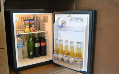 Produtos no frigobar: vantagens e desvantagens